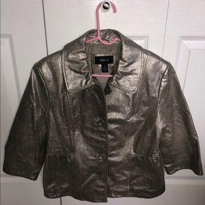 Super cute shimmery blazer jacket
